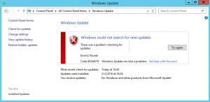Windows_could_search_for_new_updates_Code_80244019