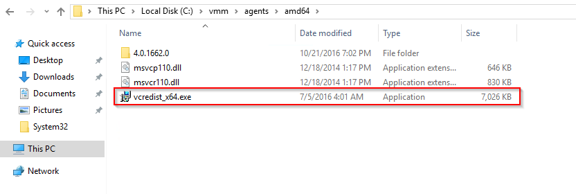 SCVMM 2016 Agent installation can fail with the error